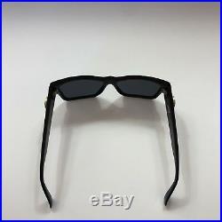 Rare Vtg Gianni Versace Black Sunglasses Mod 372