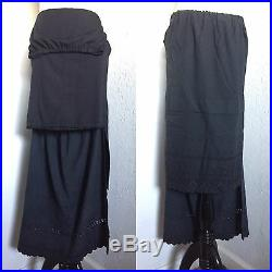 Rare Vtg Maison Martin Margiela Artisanal Line 0 Half Slip Eyelet Skirt C. 2004