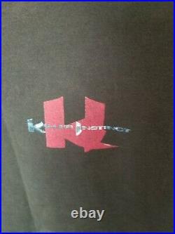 Rare Vtg Nintendo Killer Instinct SNES Video Game Promo T-Shirt Fruit Of Loom XL