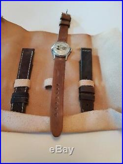 Rare Wrist Watch by INCABLOC Geneva Sport 1939 Nazi Germany