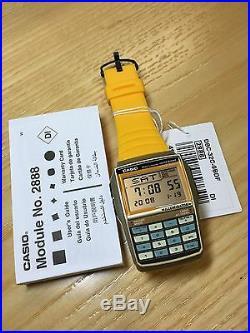 Rare vintage casio DATABANK DBC-32 DBC-32C calculator watch NOS HTF NEW