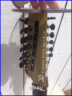Roberts Roto neck 12 Dual 12 string Electric Guitar Very Rare rotoneck