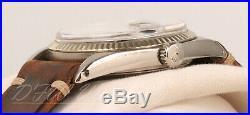 Rolex Datejust 1601 RARE Matte Black Dial Vintage 1970 36