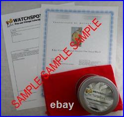 Rolex Oyster Perpetual Date Ultra Rare Gold Capped Mens Watch Model 1550 1971
