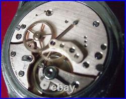 Rotary Fine Rare Calendar Moon Phase Vintage'50 -s. Steel Back Manual Wind