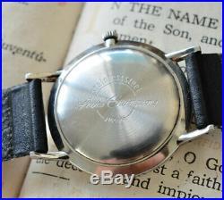 SEIKO champion Rare Vintage winding wrist watch DIASHOCK 17J From Japan