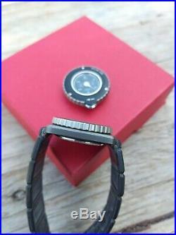 Seiko Fieldmaster contra watch + map meter ref. 2C21-0090 ULTRA RARE vintage