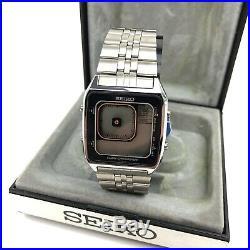 Seiko Vintage Digital Watch G757-4050 Octopussy James Bond Rare New 1986