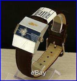 Sicura (RARE Breitling) vintage Jump hour jumping hour digital Swiss made watch