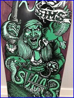Sims Kevin Staab Pirate NOS OG Skateboard Deck Rare HTF Vintage Original 80 NHS