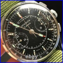 Soviet Space Leonov Watch Poljot STRELA 3017 SEKONDA Export RARE Chronograph Men