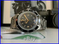 Steinhart Ocean One Explorer Vintage Rare Watch With Box And Extra Links 42mm