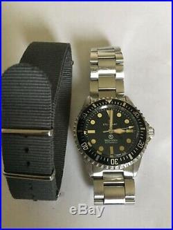 Steinhart Ocean Vintage Military (OVM) Mk1 Black Dial RARE