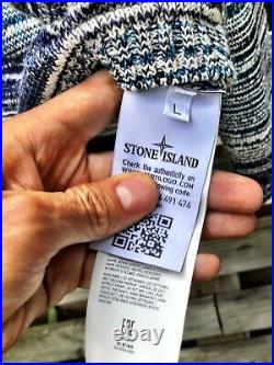 Stone Island Shadow Project Knit Jumper Size L RRP 495 Super Rare