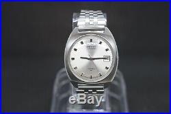 Stunning Rare Vintage Seiko 7005 8042 Automatic Bracelet Watch April 1972