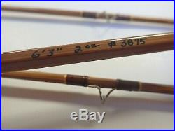 Super Rare Gary Howells bamboo fly rod 6'3, 3 weight
