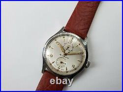 Super Rare Vintage Swiss Oris 601 KIF Power Reserve Mens Automatic Watch