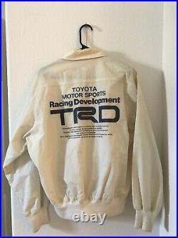 Toyota Grand Prix Watkins Glen Jacket Rare Vintage JDM OEM 80s 90s TRD F1 USDM