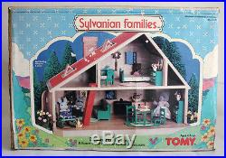 Ultra Rare Vintage 1985 Sylvanian Families Deluxe Family House Tomy Epoch New