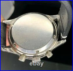 VERY RARE VINTAGE 60s LONGINES WITTNAUER MODEL 3525 WATCH CHRONOGRAPH CAL. 7733