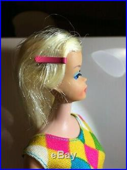 VERY VERY RARE Vintage PLATINUM Color Magic Barbie Mint Condition Prototype