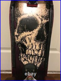 VINTAGE 1989 OG Santa Cruz Street Creep skateboard RARE