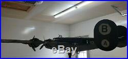 VINTAGE B-24 Liberator WW2 WEATHER VANE METAL SCULPTURE FOLK ART RARE