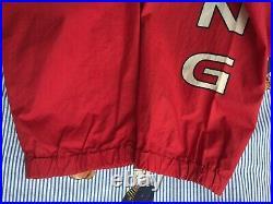 VTG Ralph Lauren POLO 1993 93 Cycling RACING jacket L Cycle Stadium 90s EUC rare