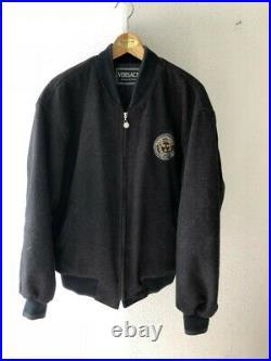 Versace Jeans Couture Bomber Jacket Rare Gianni Versus 90s Vintage Medusa