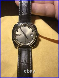 Very Rare 1968 KING SEIKO MENS WATCH Automatic Hi Beat Stainless Steel Vintage