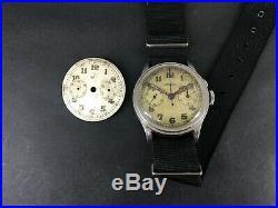 Very Rare Russian Navy Lemania Military Chronograph Caliber 13