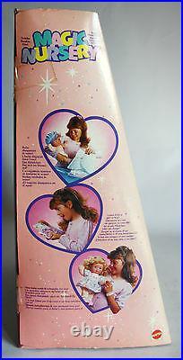 Very Rare Vintage 1990 Magic Nursery Baby Doll 2 Boy Or Girl Mattel New