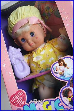 Very Rare Vintage 1990 Magic Nursery Baby Doll 3 Boy Or Girl Mattel New