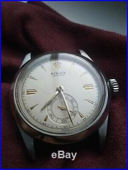 Vintage 1950's Rolex Oyster 6282 Rare Sub Seconds Dial Excellent Condition