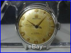 Vintage 1954 SEIKO mechanical watch SUPER Rare Even Numbers dial