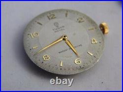 Vintage 1956 Rolex Tudor 9 Karat Gold Super Rare Winding Watch (Works)