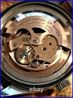 Vintage 1958 Seamaster 300 2913 3 SC Trilogy Diver Watch Rare for Collectors