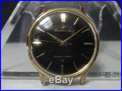Vintage 1961 SEIKO Automatic watch Seikomatic 20J Rare Black dial