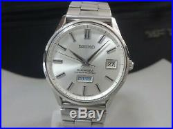 Vintage 1967 SEIKO Automatic watch BUSINESS-A 27J 8346-8030 Rare dial