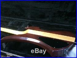 Vintage 1984 B. C. Rich USA Mockingbird Neck Through Electric Guitar WithHSC Rare