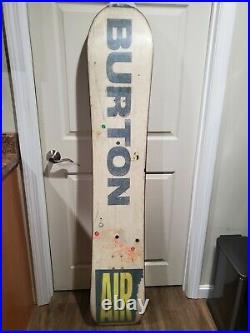 Vintage 1990 Burton Craig Kelly Mystery Air Team Snowboard Very Rare