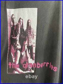 Vintage 1993 The Cranberries tee XL Band Rare t shirt
