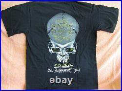 Vintage 1994 METALLICA Concert Shirt Lg Rare Concert T Shirt Metal Original