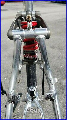 Vintage 1996 GT LTS-1 THERMOPLASTIC Mountain Bike Frame 18 GT-STS LOBO Rare