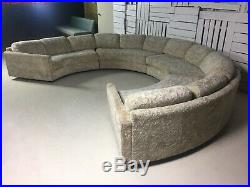Vintage Adrian Pearsall Craft Associates Authentic Sofa Sectional withTags Rare