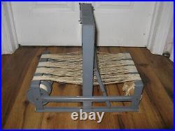 Vintage Antique Structo Artcraft 8 Loom 4 shaft Tabletop Weaving LOOM Rare Nice