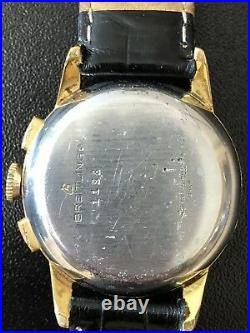 Vintage Breitling 1958 RARE FIND! Bow Tie Dial