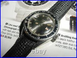 Vintage EBERHARD Scafograf 500m DIVER automatic ladies watch rare