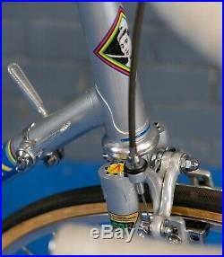 Vintage Eddy Merckx 1977 Kessels Reynolds 531 Bicycle in Fiat Team Colours RARE