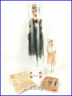 Vintage Hong Kong Bild Lilli Doll Lot One 8 in and One 11 in Very Rare